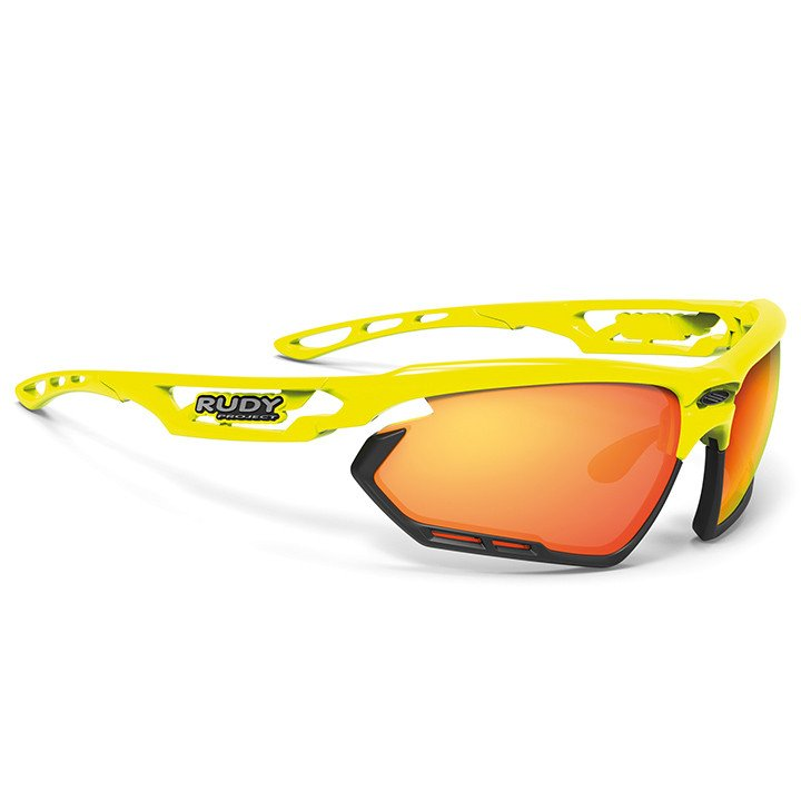 RUDY PROJECT fietsbril Fotonyk 2019 yellow fluo sportbril, Unisex (dames /
