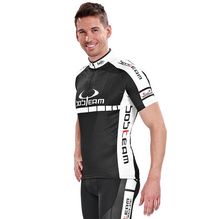 Racefiets shirt, BOBTEAM Colors fietsshirt met korte mouwen, voor heren, Maat XS