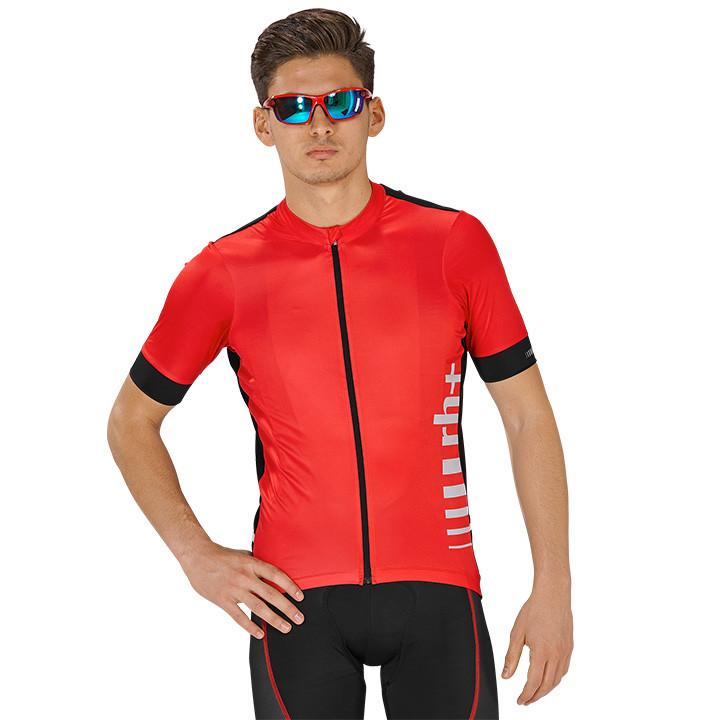 rh+ shirt met korte mouwen Logo EVO fietsshirt met korte mouwen, voor heren, Maa