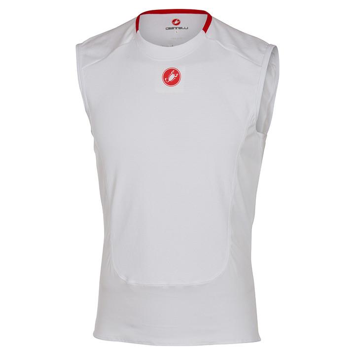 CASTELLI ondershirt zonder mouwen Prosecco onderhemd, voor heren, Maat 2XL,
