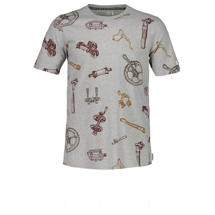 MALOJA T-shirt FlavioM. t-shirt, voor heren, Maat XL, MTB shirt, MTB