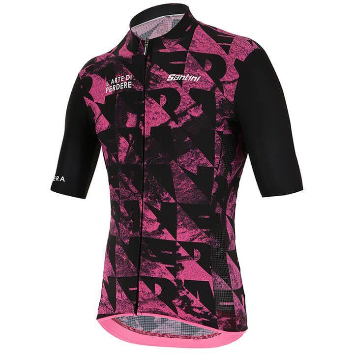 SANTINI La Maglia Nera Shirt met korte mouwen 2019 fietsshirt met korte mouwen,