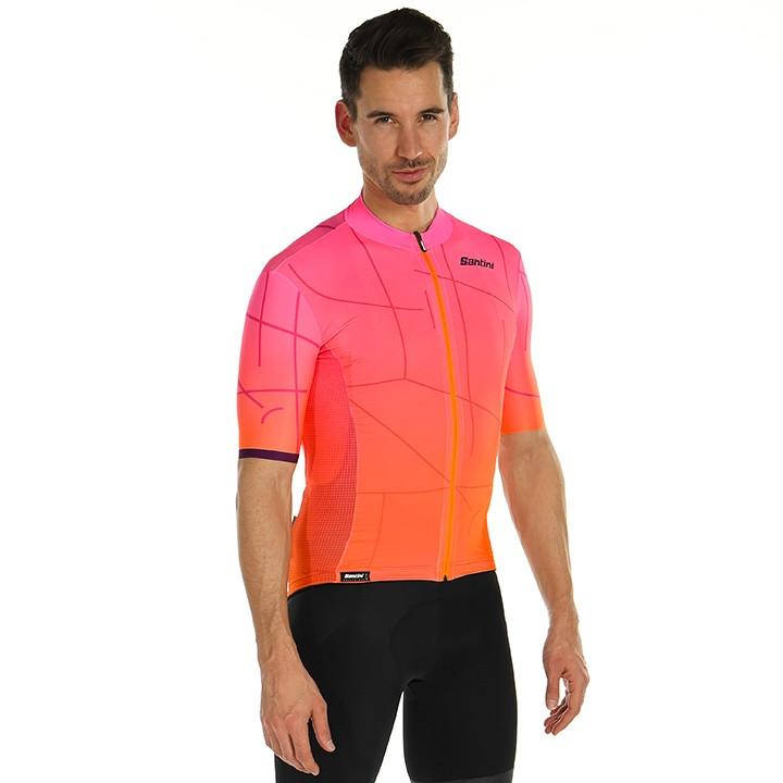 SANTINI Shirt met korte mouwen Tono Puro fietsshirt met korte mouwen, voor heren