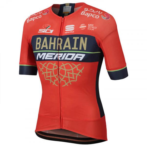 BAHRAIN - MERIDA Kurzarmtrikot Pro Race 2018