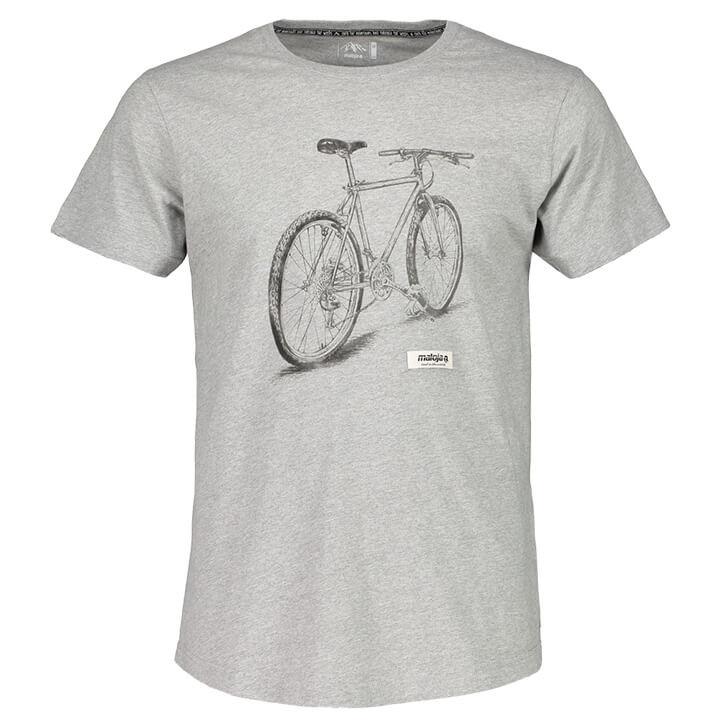MALOJA T-shirt GideonM. t-shirt, voor heren, Maat S, MTB shirt, Mountainbike kle