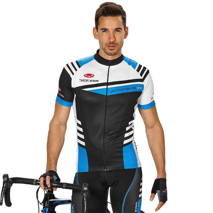 Wielershirt, BOBTEAM Performance Line III fietsshirt met korte mouwen, voor here