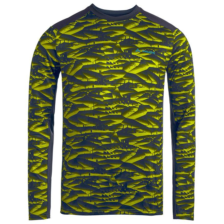 VAUDE fietsshirt met lange mouwen Virt II bikeshirt, voor heren, Maat 2XL, Wiele