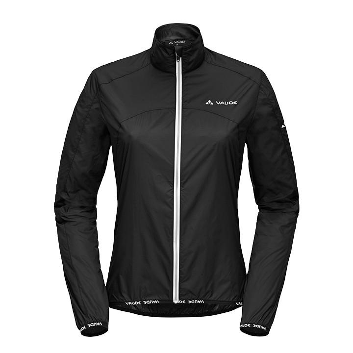 VAUDE Air II, zwart dameswindjack, Maat 36, Fiets jas,