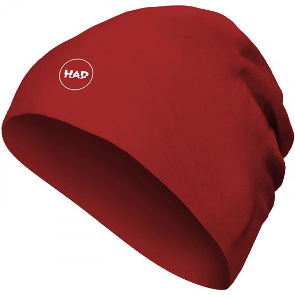 Merino Beanie Red Winter Cap