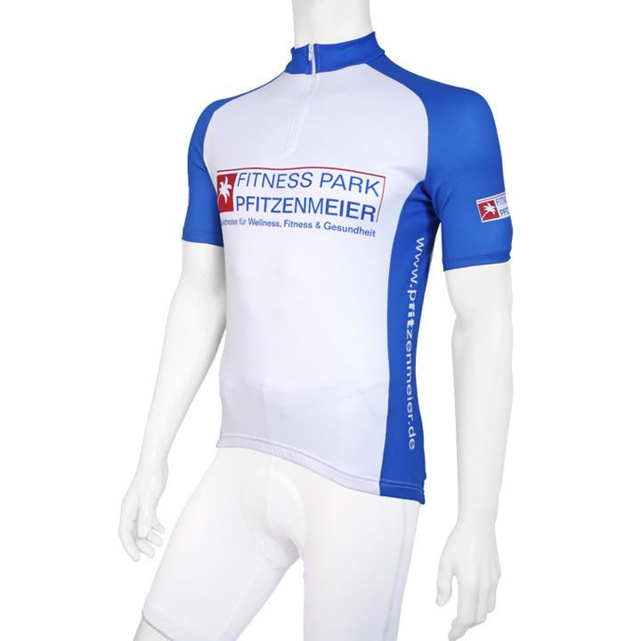 Wielrenshirt, Pfitzenmeier fietsshirt met korte mouwen fietsshirt met korte mouw