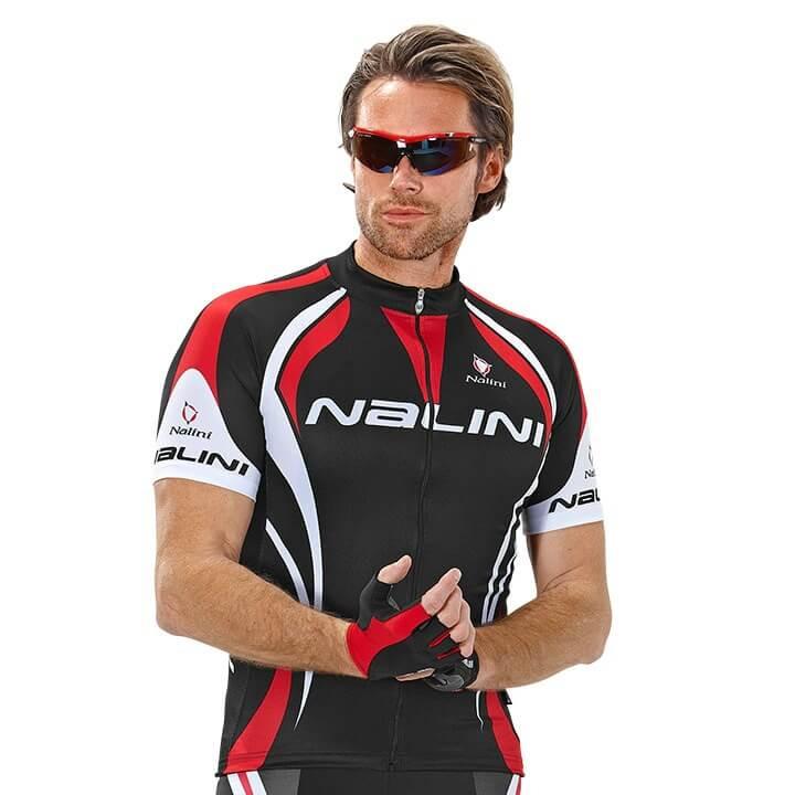 NALINI PRO Predazzo fietsshirt met korte mouwen, voor heren, Maat S, Wielrenshir