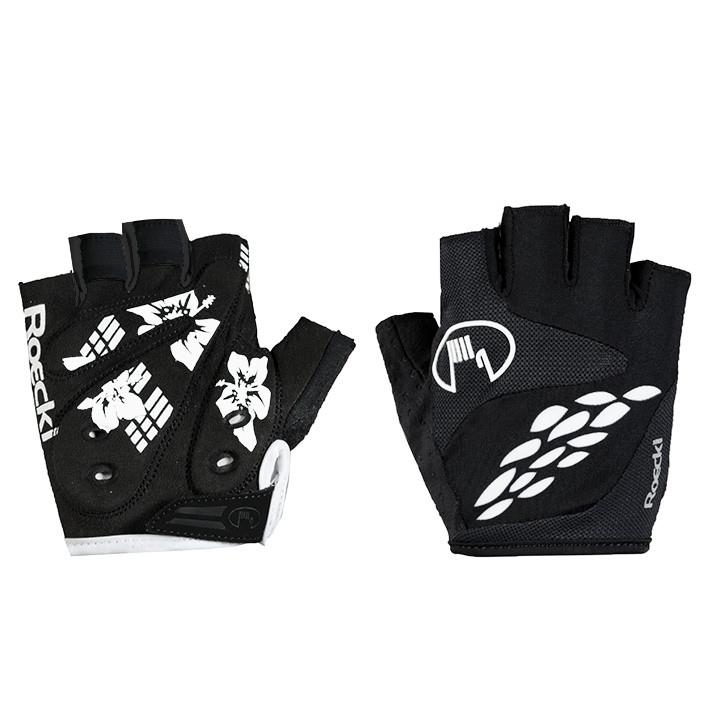 ROECKL dames handschoenen Daito zwart dameshandschoenen, Maat 6, Fietshandschoen
