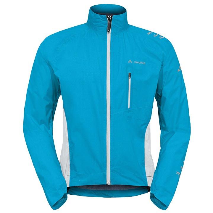 VAUDE Spray IV blauw regenjack, voor heren, Maat 2XL, Regenjas, Regenkleding