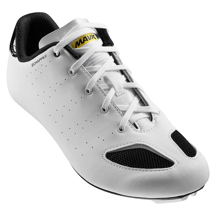 MAVIC Echappee wit-zwart dames raceschoenen, Maat 5, Racefiets schoenen, Wielers