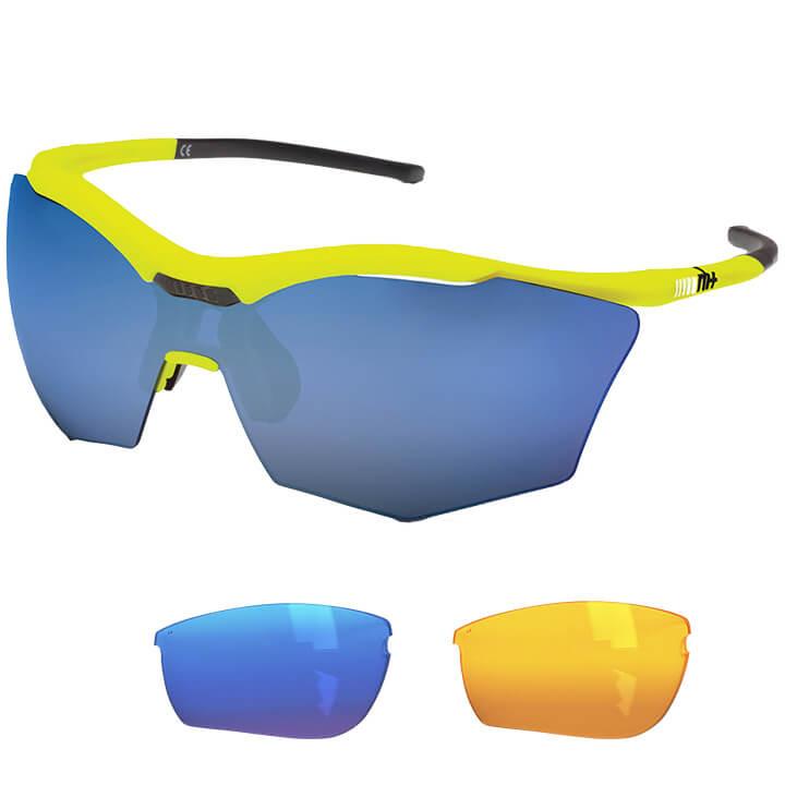 rh+ Brillenset Ultra Stylus bril, Unisex (dames / heren), Sportbril, Fietsaccess