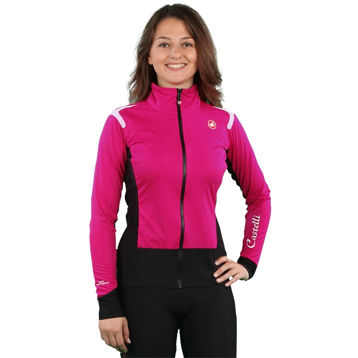 CASTELLI Dames Alpha RoS Light Jacket, Maat L, Fietsjas,