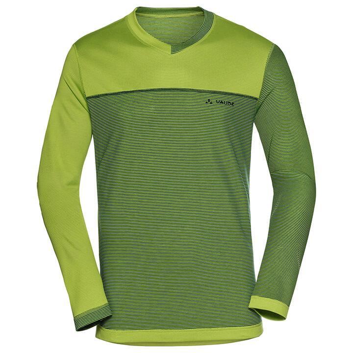 VAUDE met lange mouwen Moab bikeshirt, voor heren, Maat XL, Wielershirt, Fietskl