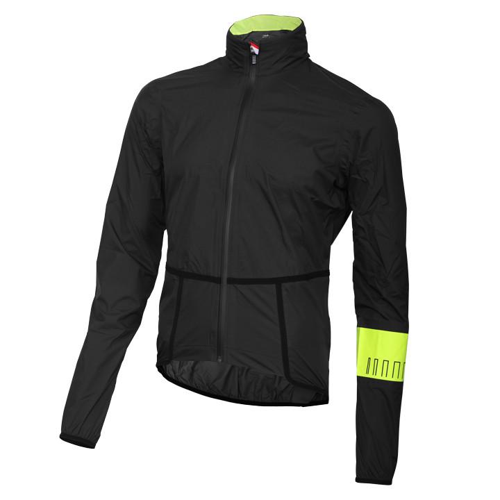 RH+ PW Extreme Pack zwart-neon geel regenjack, voor heren, Maat XL, Regenjas, Re