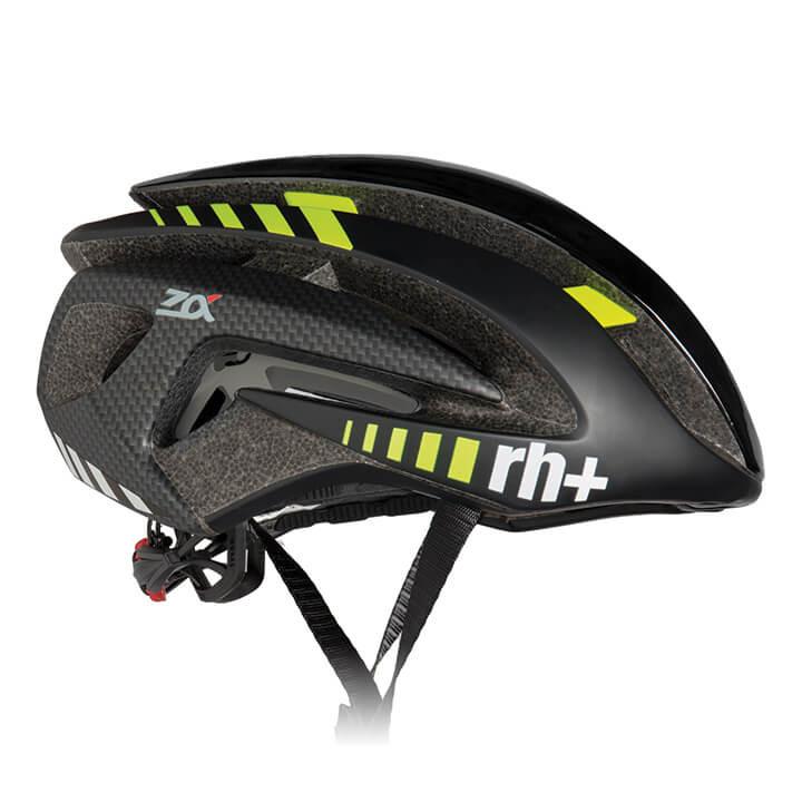 rh+ RaceZ Alpha fietshelm, Unisex (dames / heren), Maat M, Fietshelm, Fietsacces