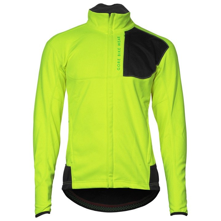 GORE winterjack Power Trail WS SO neon geel Thermojack, voor heren, Maat M, Fiet