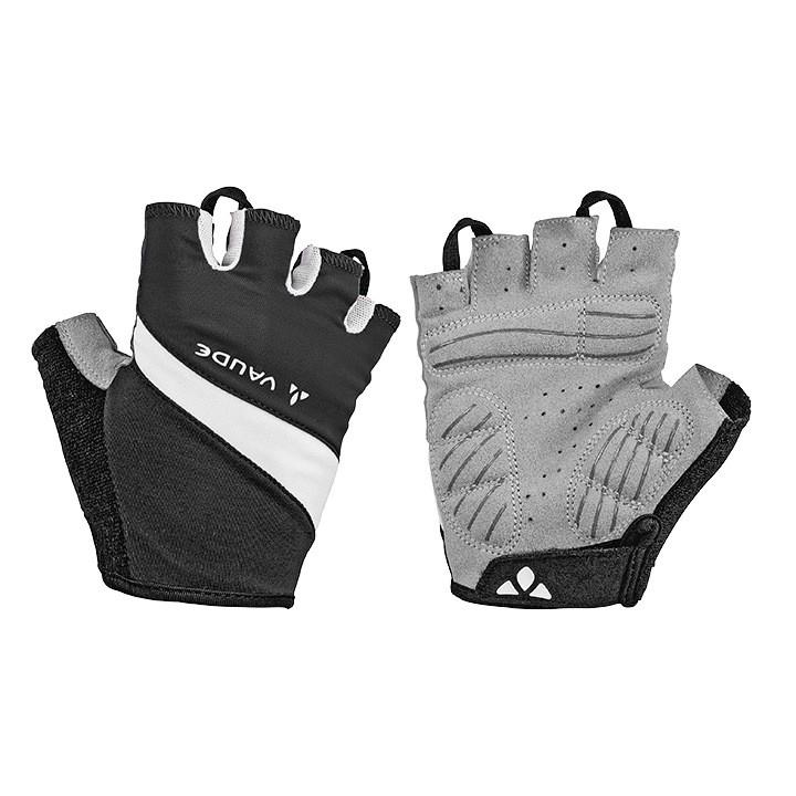 VAUDE damesfietshandschoenen Active, zwart-wit dameshandschoenen, Maat 7,