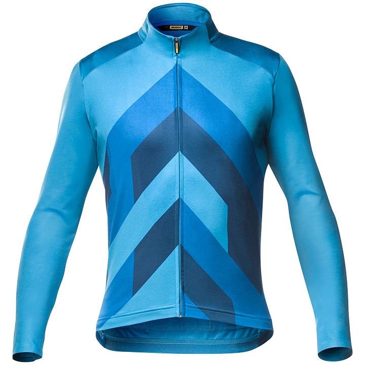 MAVIC Shirt met lange mouwen Cosmic Graphic fietsshirt met lange mouwen, voor he