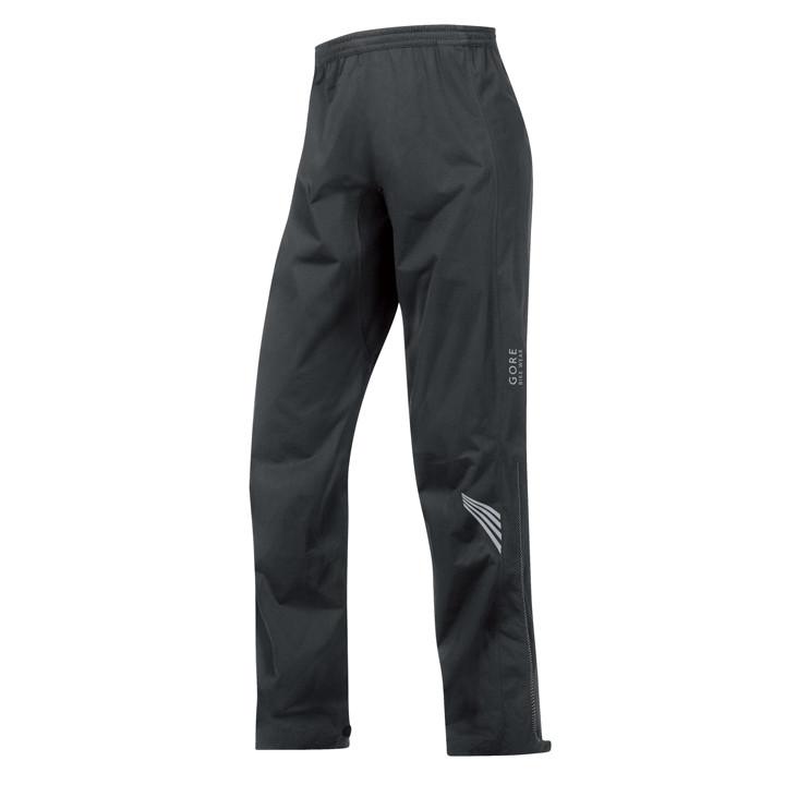 GORE Element GT AS zwart regenbroek, voor heren, Maat XL, Fietsbroek, Regenkledi