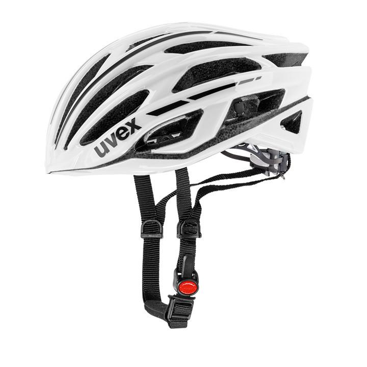 UVEX Race 5 fietshelm, Unisex (dames / heren), Maat M, Fietshelm, Fietsaccessoir