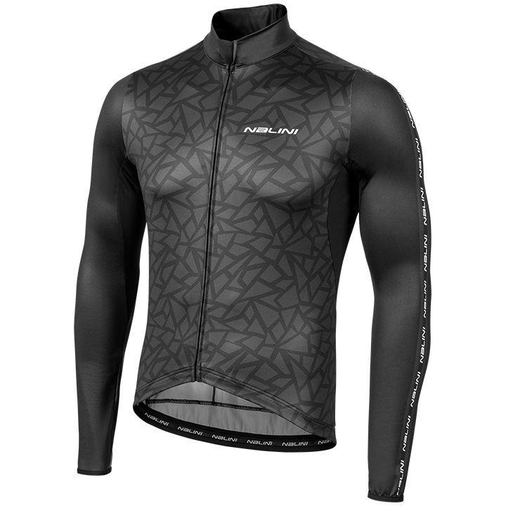 NALINI Shirt met lange mouwen LW fietsshirt met lange mouwen, voor heren, Maat 2