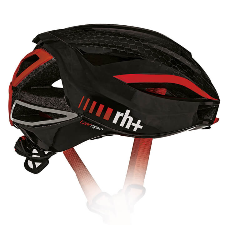 rh+ RaceLambo 2020 fietshelm, Unisex (dames / heren), Maat M, Fietshelm, Fietsac