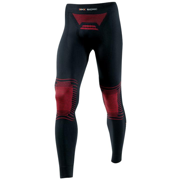 X-BIONIC lange fietsEnergizer MK2, zwart-rood onderbroek zonder zeem, voor heren