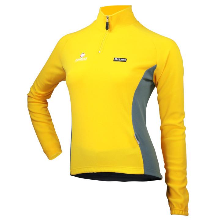 Nalini Basic dames fietsshirt met lange mouwen fietsshirt met lange mouwen, Maat
