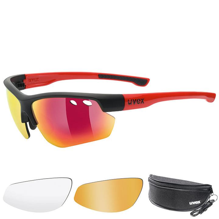 UVEX brillenset Sportstyle 115 2018 bril, Unisex (dames / heren), Sportbril,