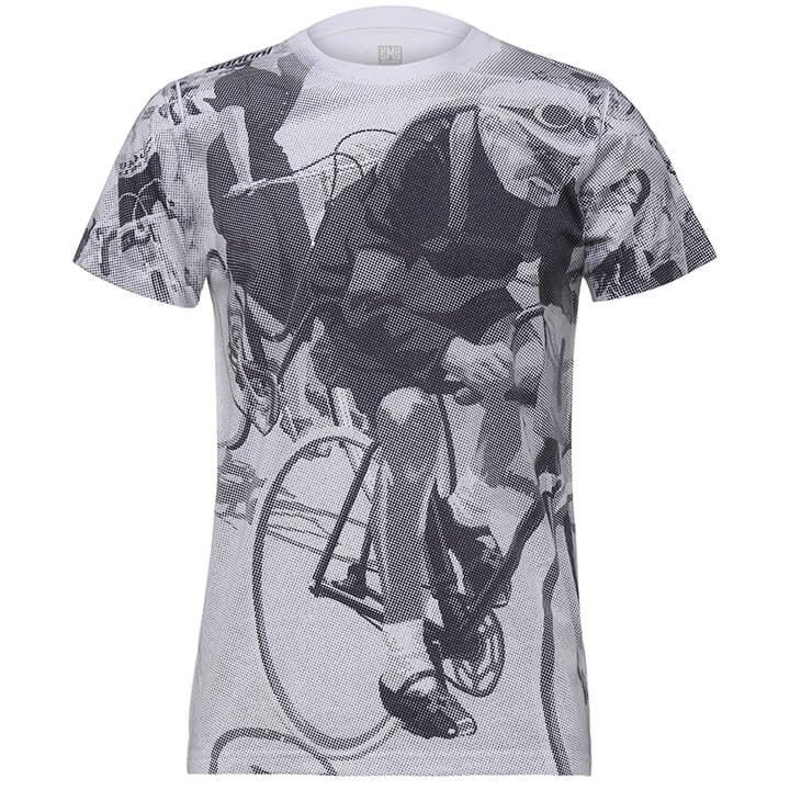 SANTINI T-shirt Eroica Berruti t-shirt, voor heren, Maat 2XL, MTB shirt, MTB