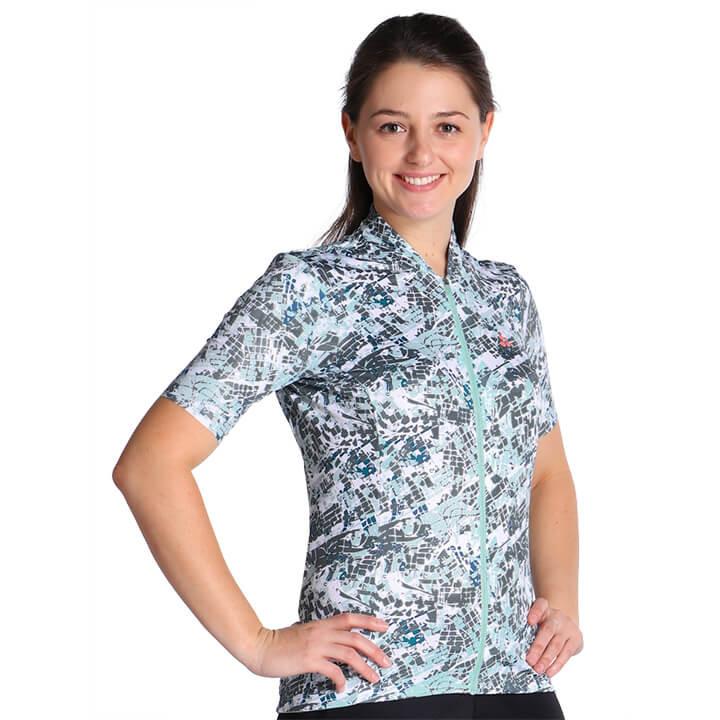 CRAFT Damesshirt Hale Graphic damesfietsshirt, Maat S, Fietsshirt, Wielerkleding