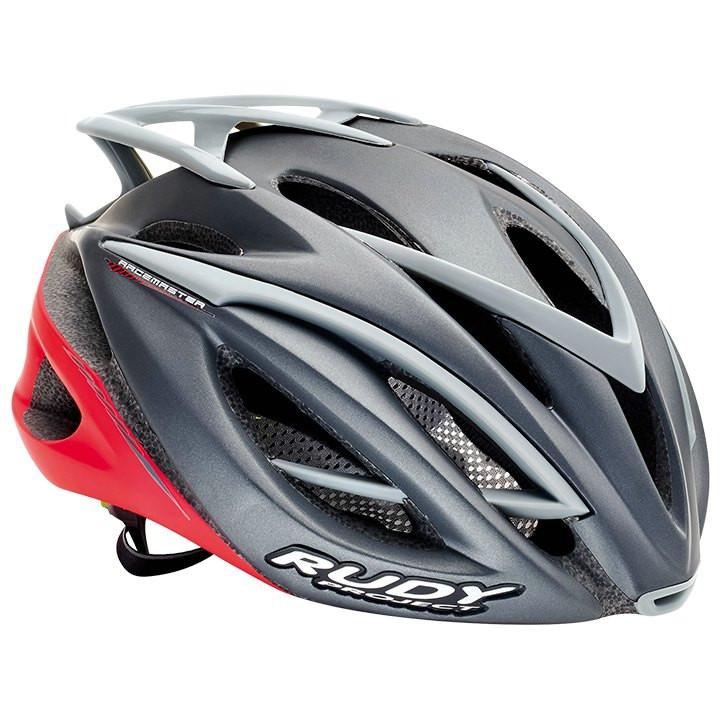 RUDY PROJECT racefiets helm Racemaster 2017 graphite-red matte fietshelm, Unisex