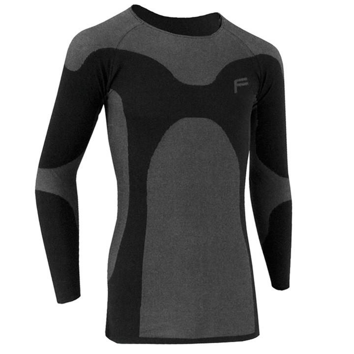 FLITE met lange mouwen Ultralight 70, zwart onderhemd, voor heren, Maat XL,