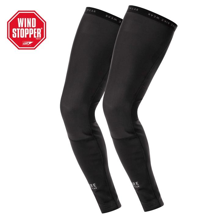 GORE Oxygen SO zwart beenstukken, voor heren, Maat S, Beenwarmer, Wielerkleding