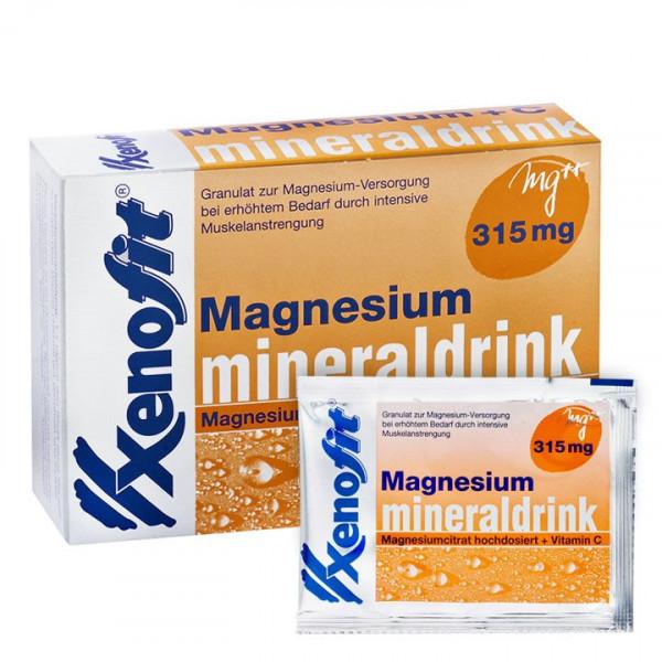 Boisson Magnésium + Vi Vitamine C Orange 20 sachets