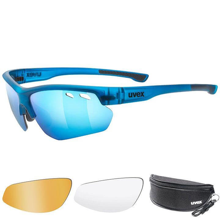 UVEX Brillenset Sportstyle 115 2020 bril, Unisex (dames / heren), Sportbril, Fie