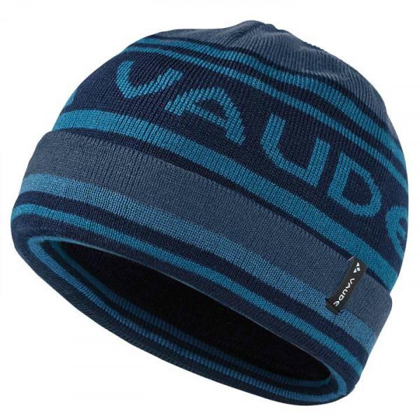 Bonnet hiver bleu foncé-bleu