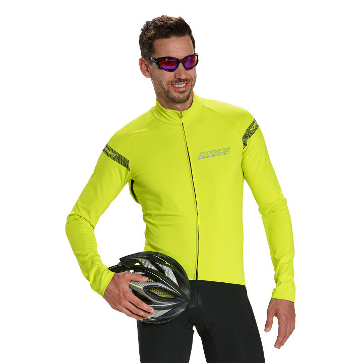 NORTHWAVE Extreme H2O neongeel Light Jacket, voor heren, Maat 2XL, Fietsjas, Fie