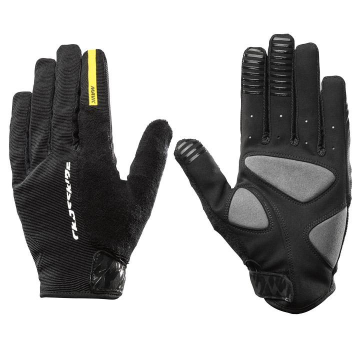 MAVIC langevingerCrossride Protect zwart handschoenen, voor heren, Maat 2XL,