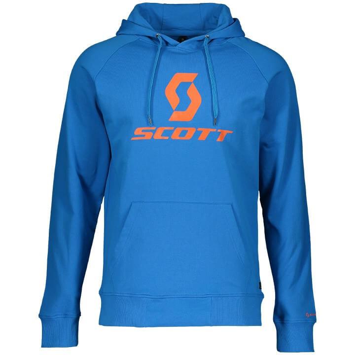 SCOTT Hoodie 10 Icon hoody, voor heren, Maat L, MTB shirt, Mountainbike kleding