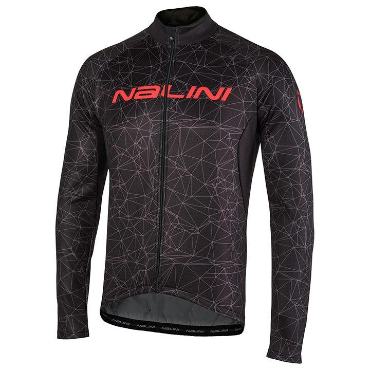 NALINI Shirt met lange mouwen Logo TI fietsshirt met lange mouwen, voor heren, M