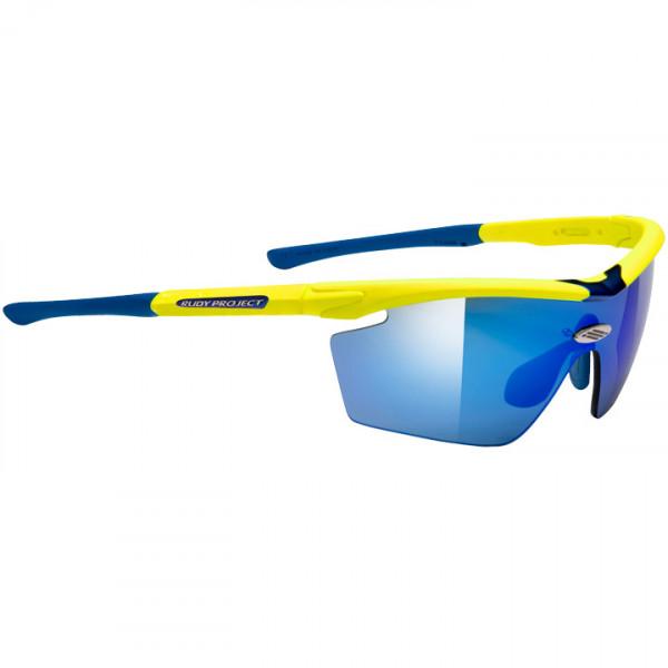 Radsportbrille Genetyk yellow fluo
