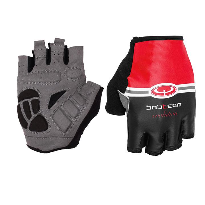 Wielerhandschoenen, BOBTEAM EVOLUTION handschoenen, rood handschoenen, voor