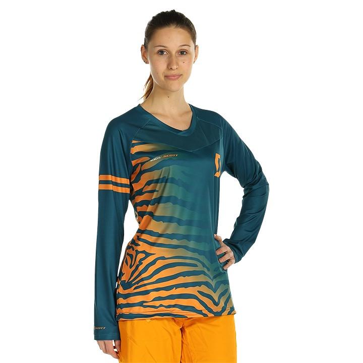 SCOTT Damesfietsshirt met lange mouwen Trail Vertic bikeshirt, Maat M, Wielershi