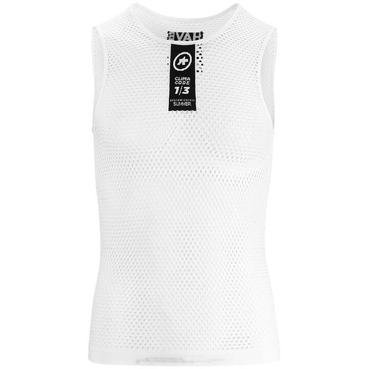 ASSOS Fietszonder mouwen Skinfoil NS Summer onderhemd, voor heren, Maat 2XL, Ond