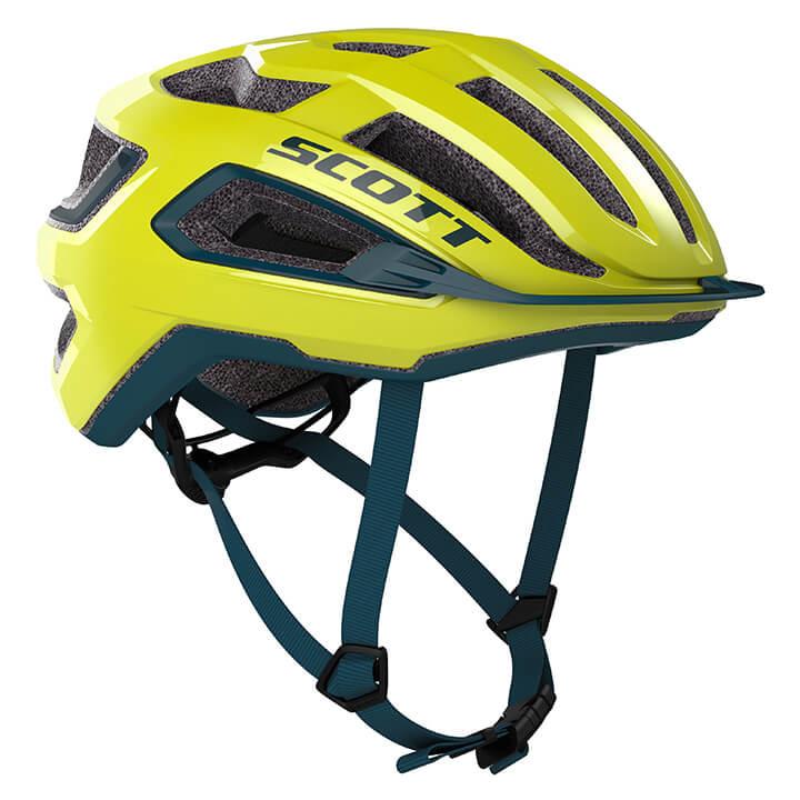 SCOTT RaceArx 2020 fietshelm, Unisex (dames / heren), Maat L, Fietshelm, Fietsac